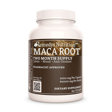 Load image into Gallery viewer, Maca Root (Lepidium meyenii) Supplement Remedy's Nutrition