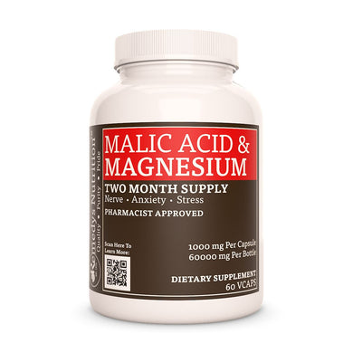 Malic Acid w/ Magnesium Supplement Remedy's Nutrition