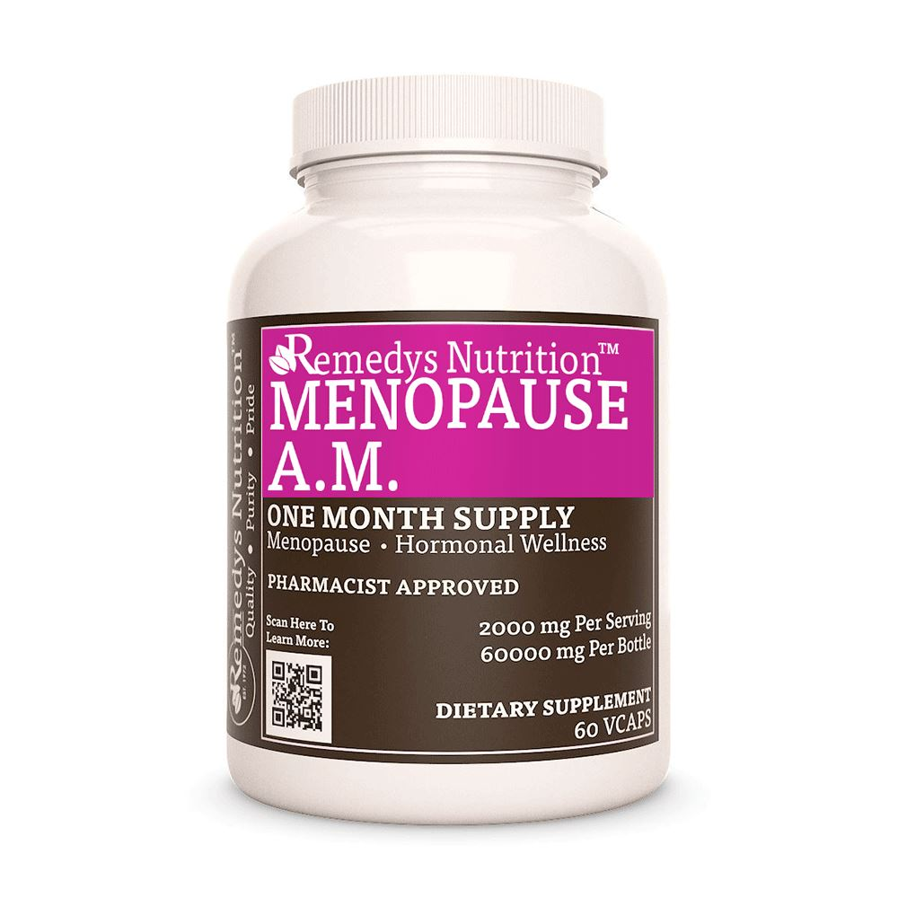 Remedy's Nutrition® Menopause A.M.™ Capsules