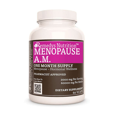 Meno-Pause AM Supplement Remedy's Nutrition