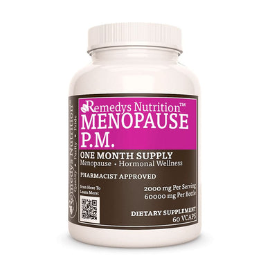 Meno-Pause PM Supplement Remedy's Nutrition