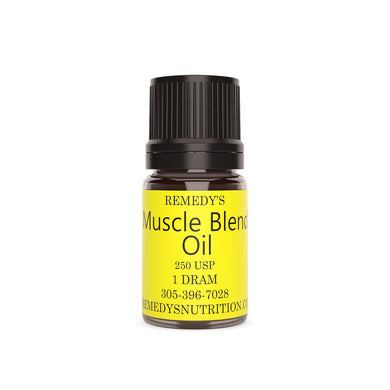 MUSCLE BLEND OIL 1.5 DRAM Personal Care Remedy's Nutrition