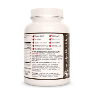 N-Acetyl Cysteine (NAC) w/ Liver Safeguard Supplement Remedy's Nutrition