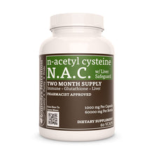 Load image into Gallery viewer, N-Acetyl Cysteine (NAC) w/ Liver Safeguard Supplement Remedy's Nutrition