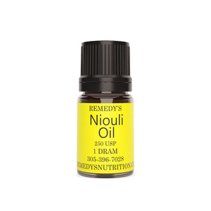 NIOULI OIL 1.5 DRAM Personal Care Remedy's Nutrition