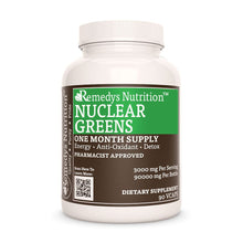 Load image into Gallery viewer, Nuclear Greens Capsules™ Supplement Remedy's Nutrition