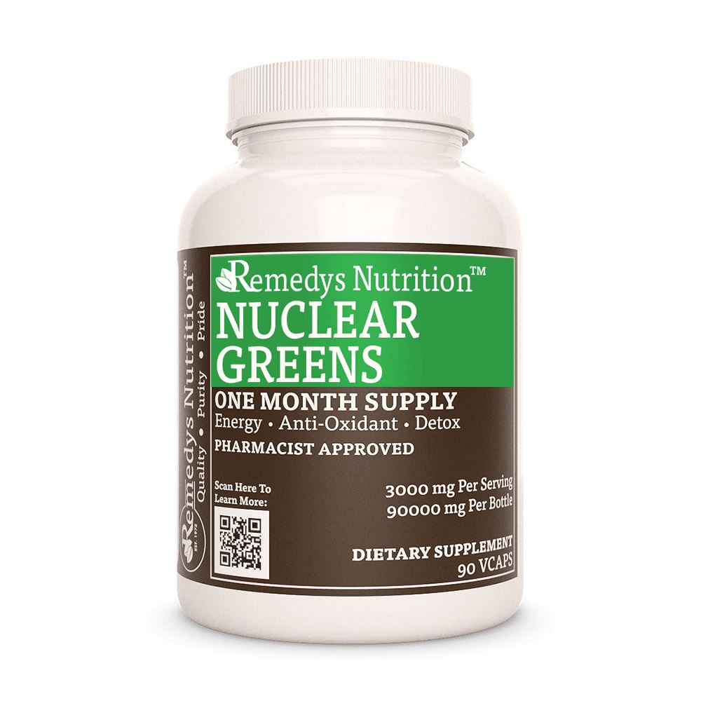 Nuclear Greens Capsules™ Supplement Remedy's Nutrition