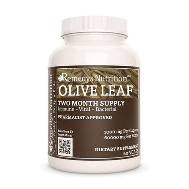 Olive Leaf Supplement Remedy's Nutrition