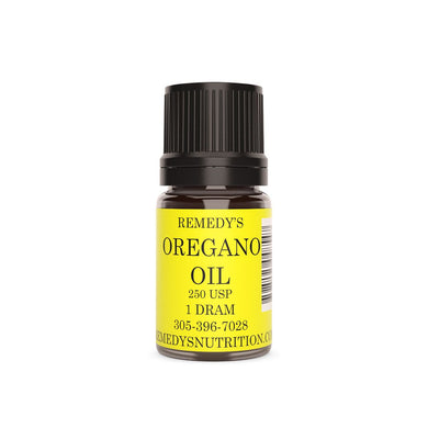 OREGANO OIL 1.5 DRAM Personal Care Remedy's Nutrition