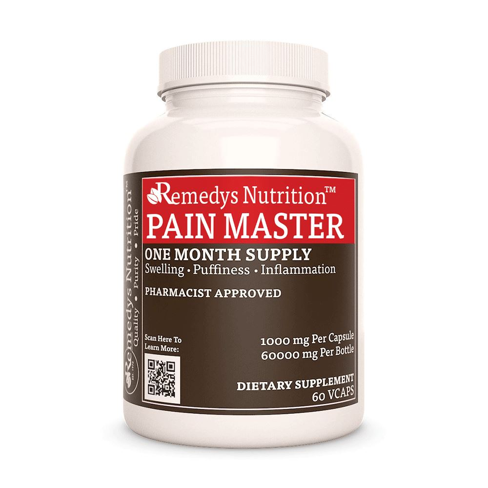 Remedy's Nutrition® Pain Master Capsules
