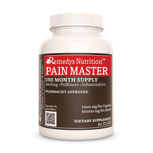 Load image into Gallery viewer, Pain Master™ Supplement Remedy's Nutrition