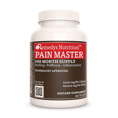 Pain Master™ Supplement Remedy's Nutrition