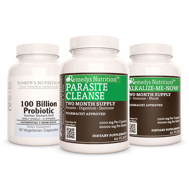 Parasite Power Pack™ Power Pack Remedy's Nutrition