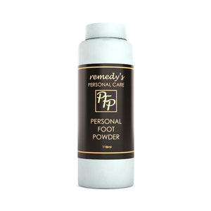 Personal Foot Powder Personal Care Remedy's Nutrition