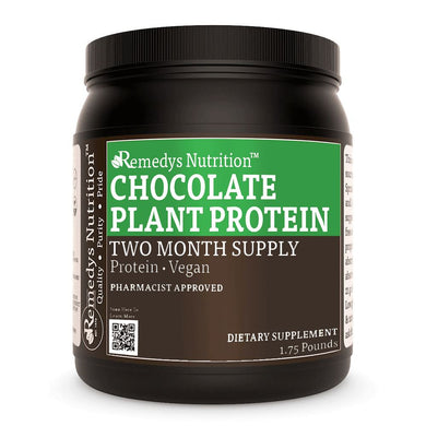 Plant Protein - Chocolate Other Remedy's Nutrition