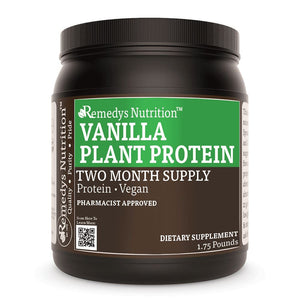 Plant Protein - Vanilla Other Remedy's Nutrition