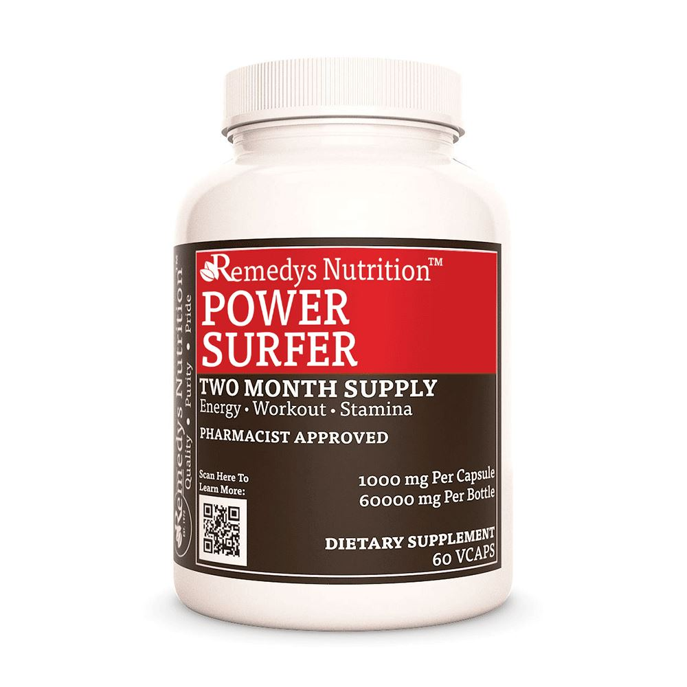 Power Surfer Supplement Remedy's Nutrition