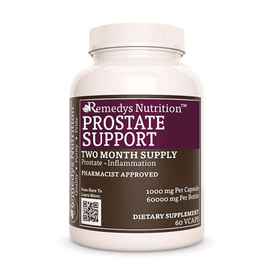 Prostate Support Supplement Remedy's Nutrition