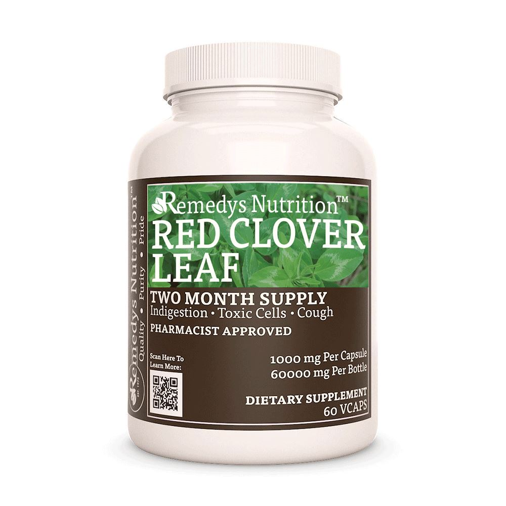 Red Clover Leaf Supplement Remedy's Nutrition