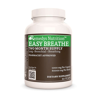 Remedy's Easy Breathe Supplement Remedy's Nutrition