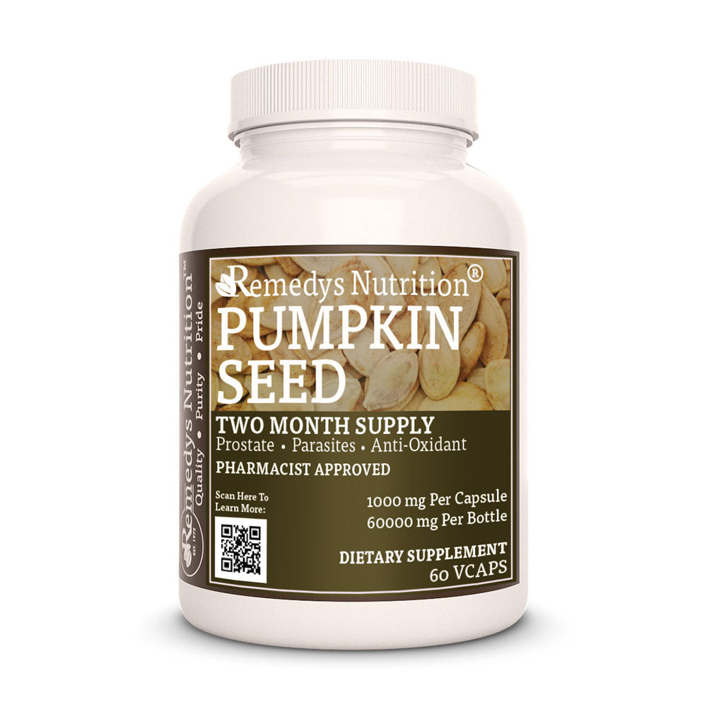 Remedy's Nutrition® Pumpkin Seed Capsules