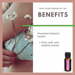 Breast Essential Oil 3 Dram / 10 mL
