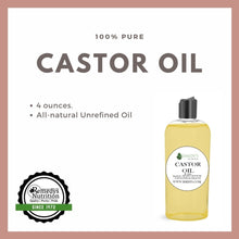 Load image into Gallery viewer, Castor Oil 4 OZ