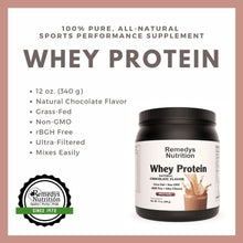 Load image into Gallery viewer, Whey Protein - Chocolate 12oz