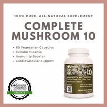 Load image into Gallery viewer, Complete Mushroom 10 Capsules