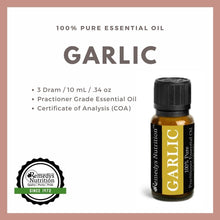Load image into Gallery viewer, Garlic Essential Oil 3 Dram / 10 mL