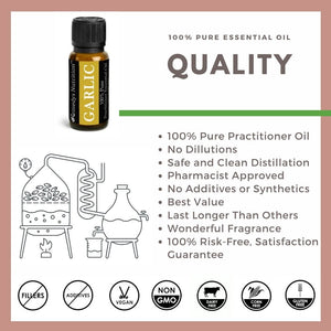 Garlic Essential Oil 3 Dram / 10 mL