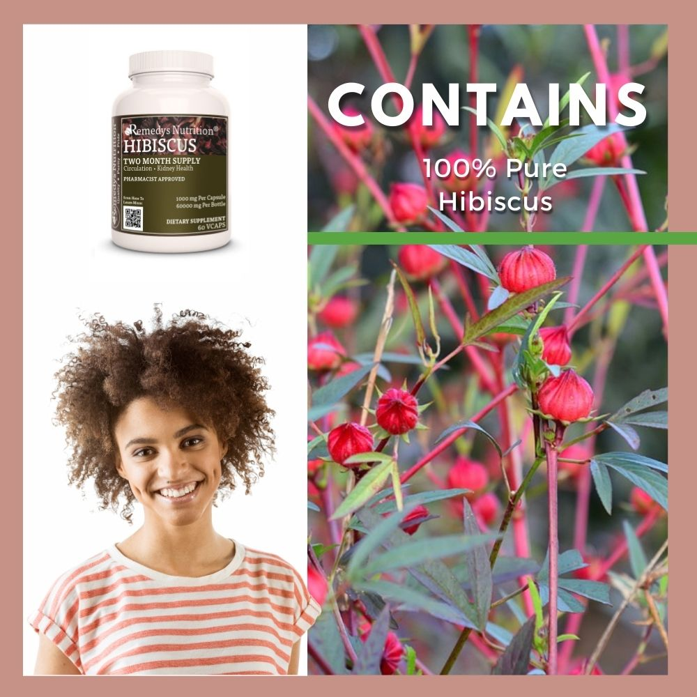 Remedy's Nutrition® Hibiscus Capsules