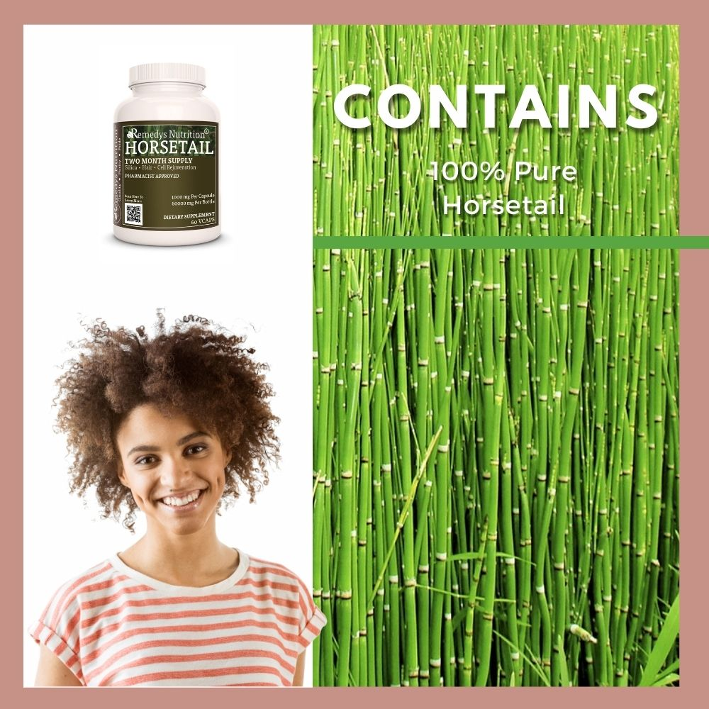 Remedy's Nutrition® Horsetail Capsules