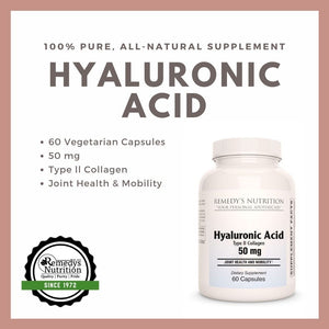 Hyaluronic Acid Capsules [50mg]