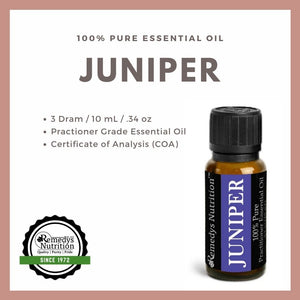 Juniper Berry Essential Oil 3 Dram / 10 mL