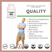 Load image into Gallery viewer, L-Carnitine 500 mg Tablets