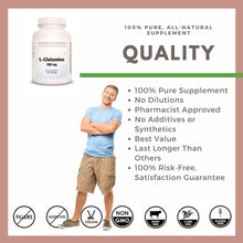 Load image into Gallery viewer, L-Glutamine 500 mg Tablets