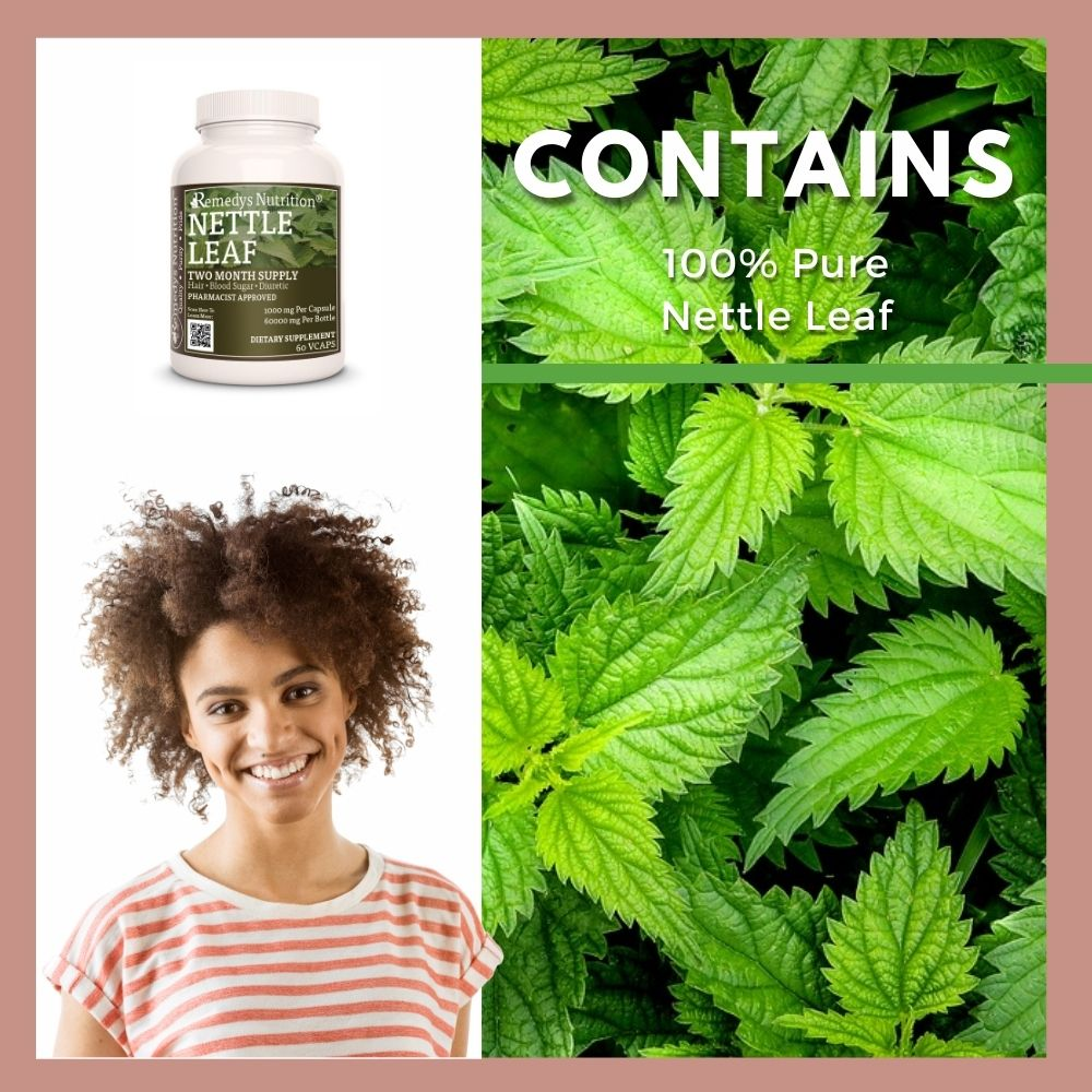 Remedy's Nutrition® Nettle Leaf Capsules
