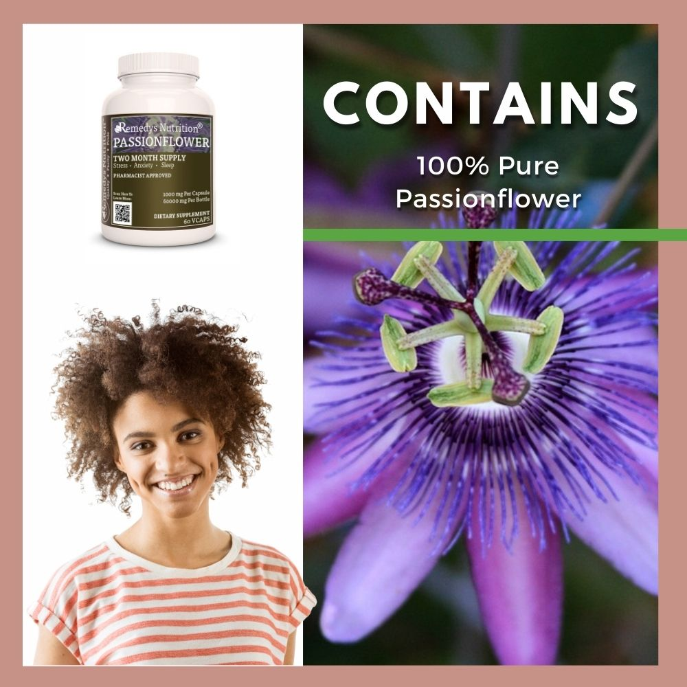 Remedy's Nutrition® Passionflower Capsules