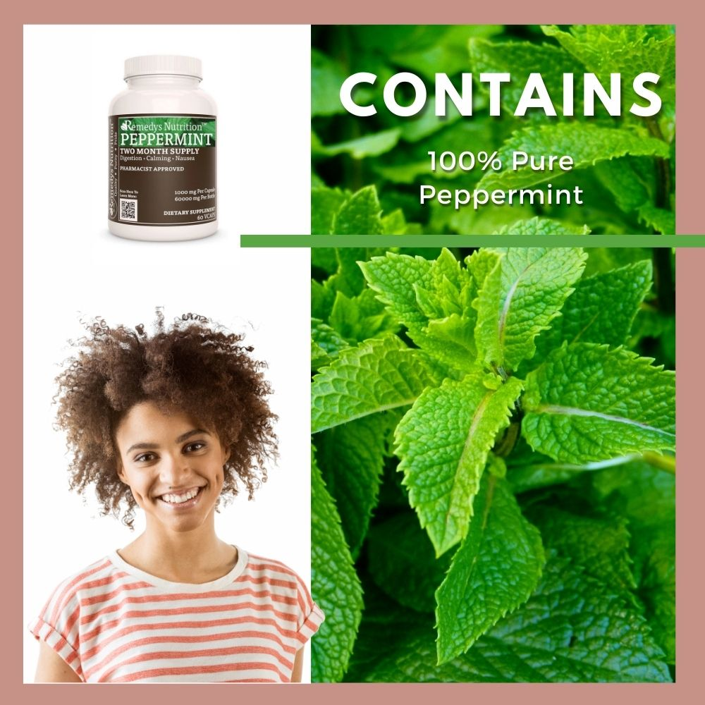Peppermint Leaf Capsules