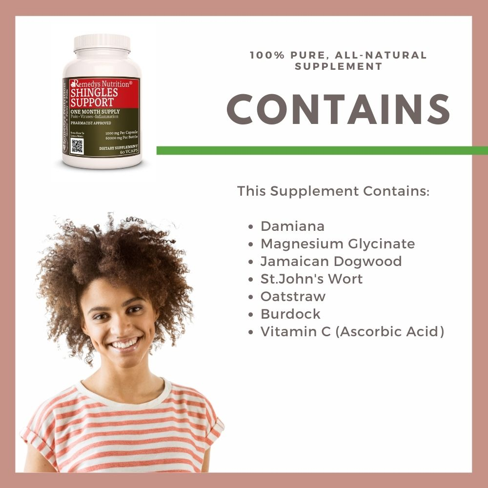 Shingles Support Capsules