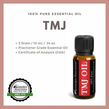 Load image into Gallery viewer, TMJ (Tempomandibular Joint) Blend Essential Oil 3 Dram / 10 mL
