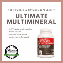 Load image into Gallery viewer, Ultimate Multi Mineral Capsules
