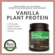 Load image into Gallery viewer, Plant Protein - Vanilla