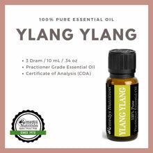 Load image into Gallery viewer, Ylang Ylang Essential Oil 3 Dram / 10 mL