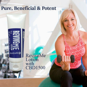 ReviveME CBD Lotion Personal Care Remedy's Nutrition