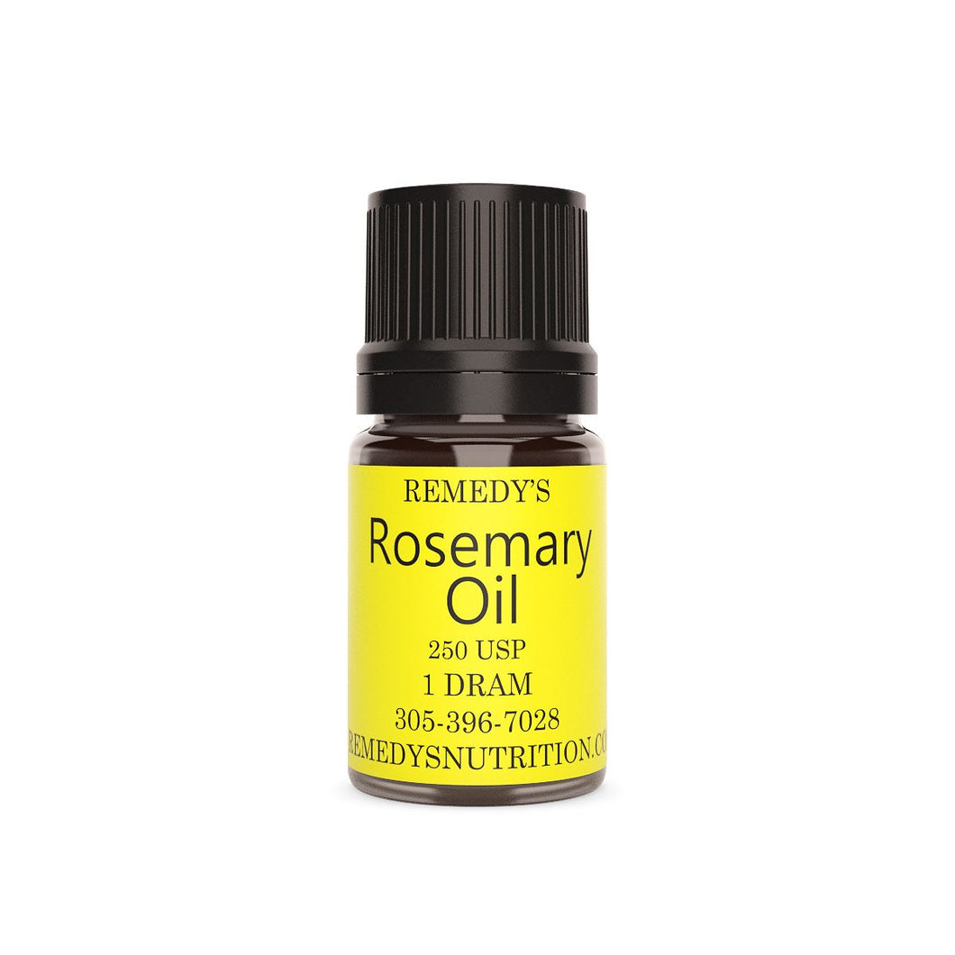 ROSEMARY OIL 1.5 DRAM Personal Care Remedy's Nutrition