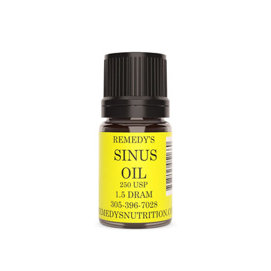 SINUS OIL 1.5 DRAM Personal Care Remedy's Nutrition