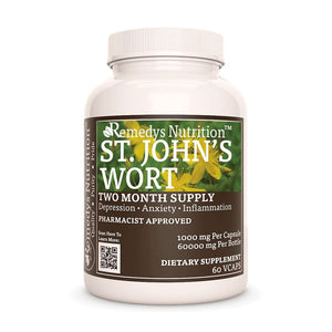 St. Johns Wort Supplement Remedy's Nutrition