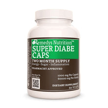 Load image into Gallery viewer, Super Diabe Caps™ Supplement Remedy's Nutrition